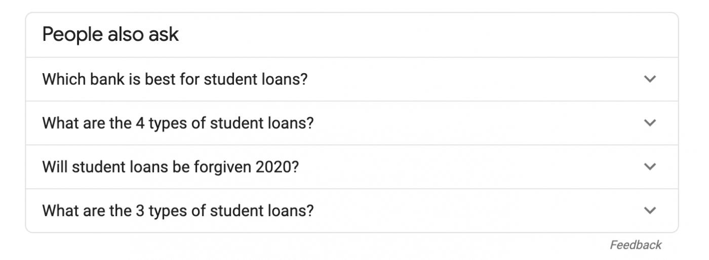 paa student loans